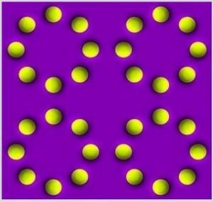 Amazing Circle Rotating Illusion