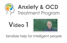 Online anxiety treatment course